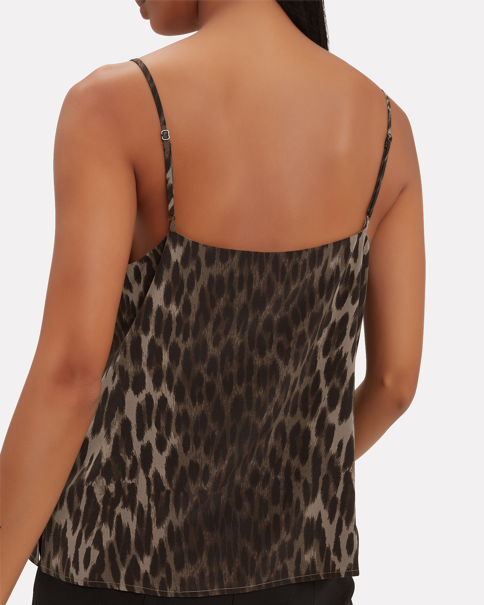 Jane Leopard Tank, OLIVE/ARMY, hi-res