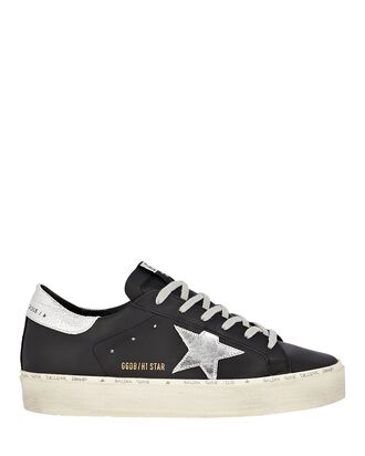 Hi Star Low-Top Sneakers, BLACK, hi-res