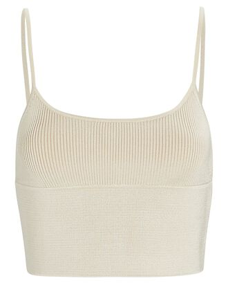 Density Scoop Neck Cami Top, BEIGE, hi-res