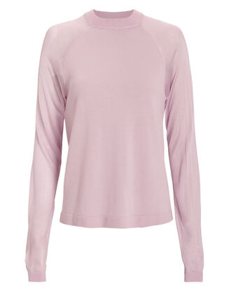 Teller Wool Sweater, PINK, hi-res
