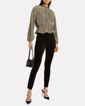 Orla Sequined Knit Top, GOLD, hi-res
