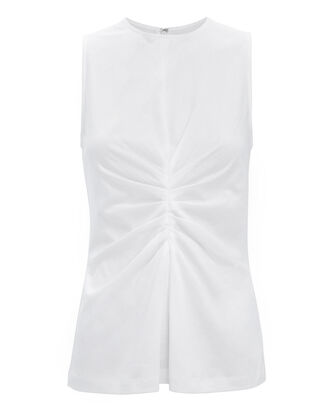 Tuck Front Tank, WHITE, hi-res