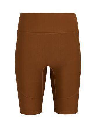 Nolan Biker Shorts, BROWN, hi-res