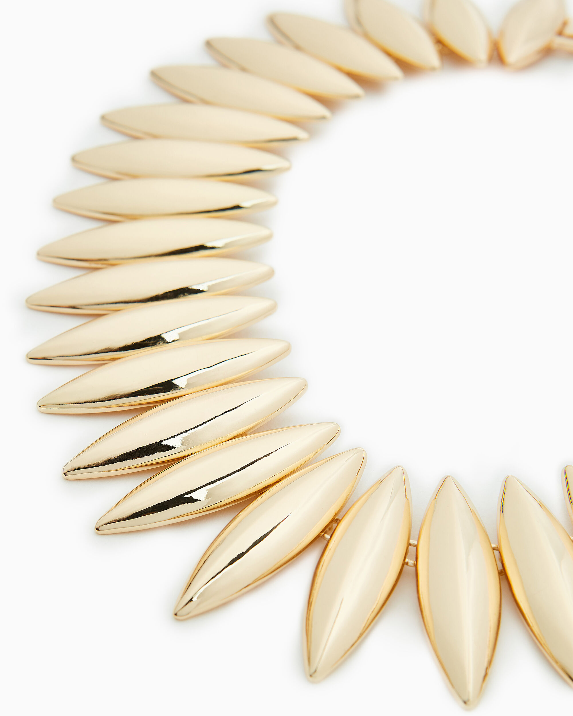Talon Interlocking Necklace, GOLD, hi-res