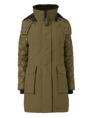 Elwin Parka, ARMY GREEN, hi-res