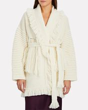 Space Cowgirl Fringed Cardigan, IVORY, hi-res