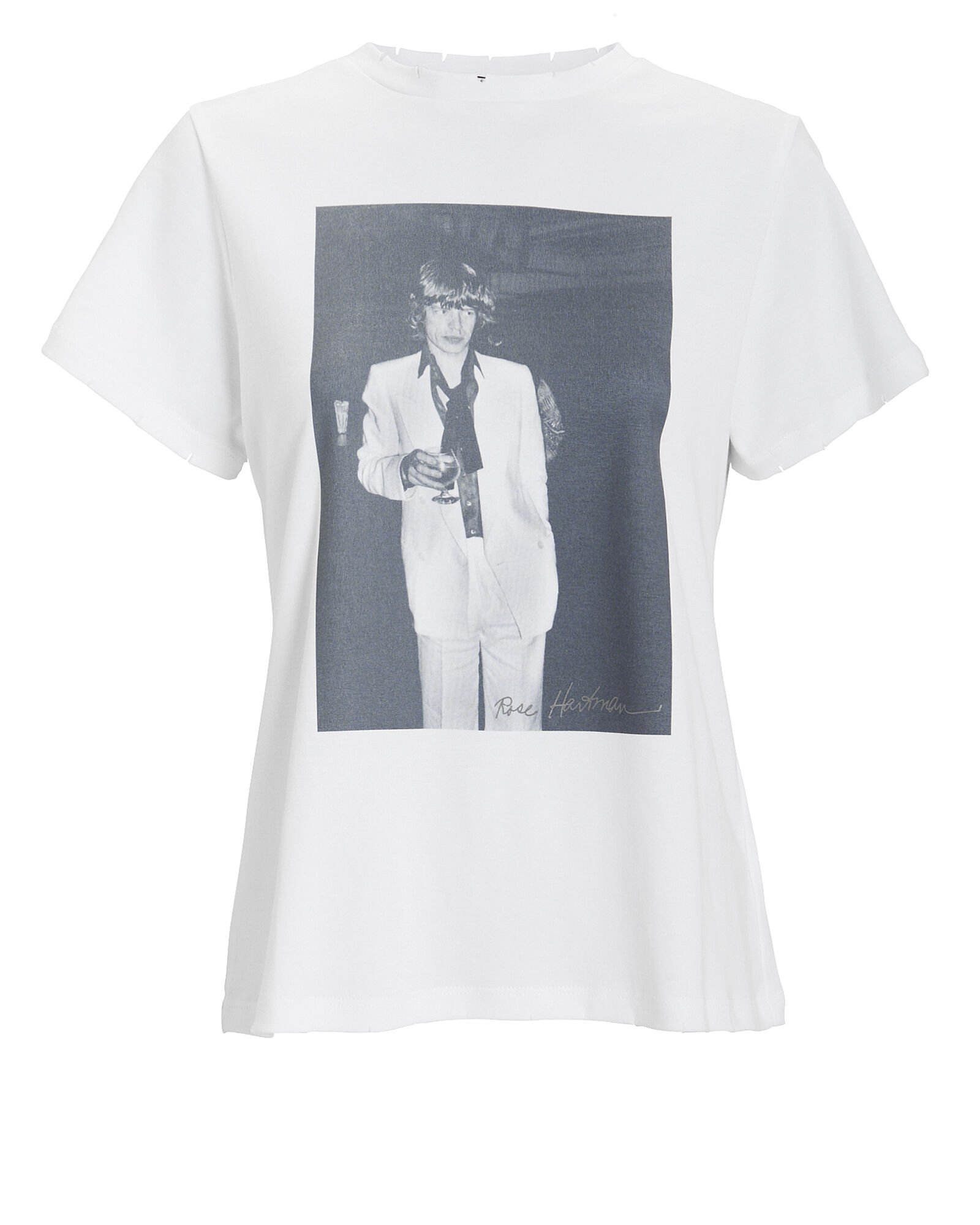 Mick Jagger T-Shirt, WHITE, hi-res