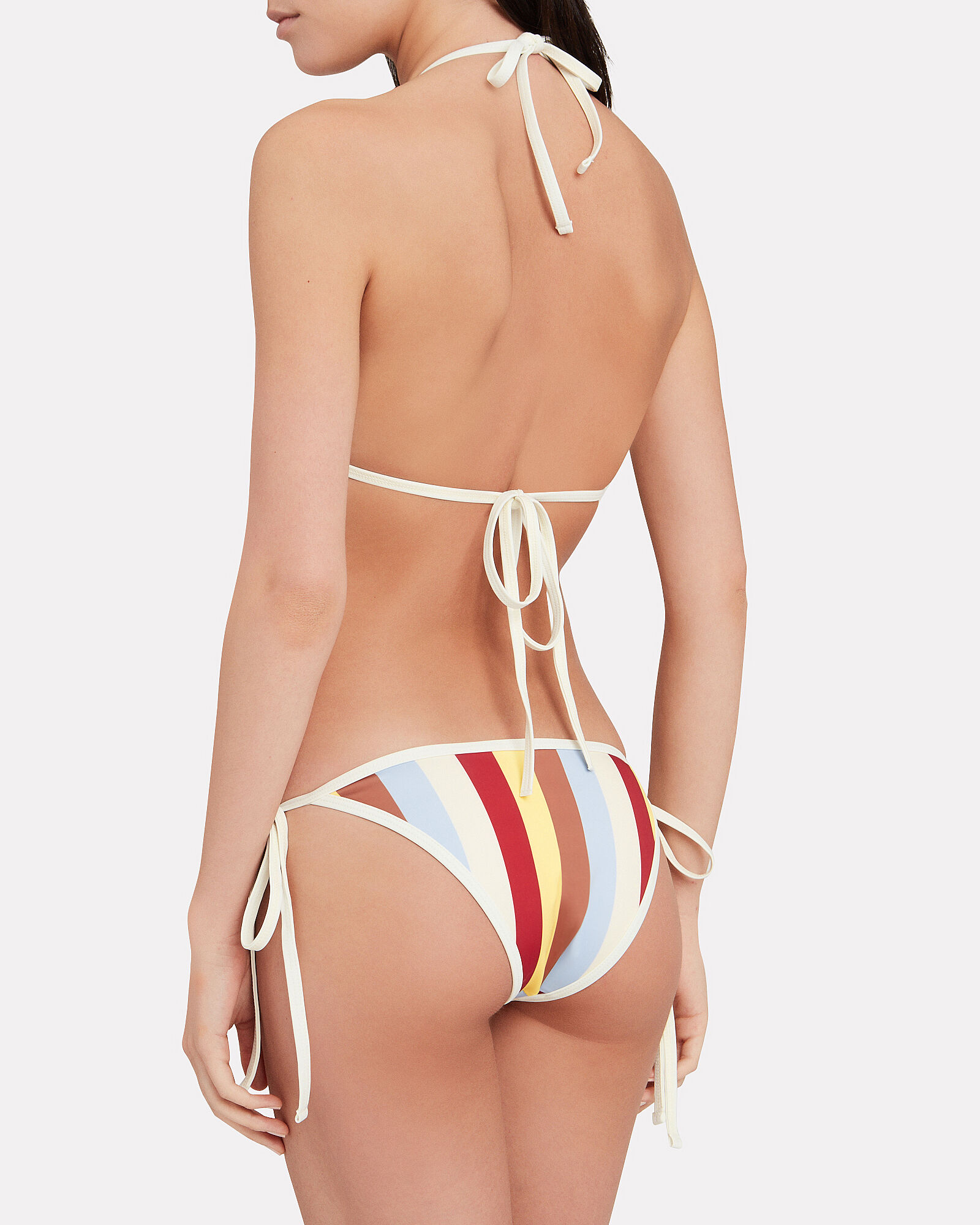 Amber Striped Bikini Bottoms, MULTI, hi-res