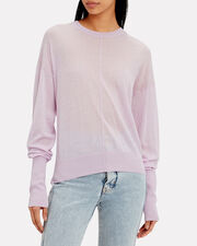 Lilac Lightweight Sweater, LILAC, hi-res