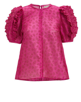 Aria Blouse, DARK PINK, hi-res