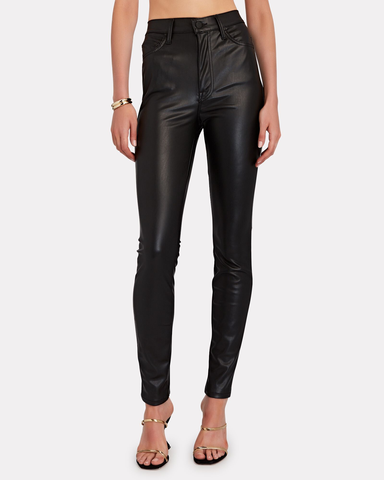 The Super Swooner Faux Leather Pants, WAX ON, WAX OFF, hi-res