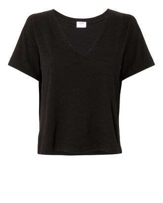 Classic V-Neck T-Shirt, BLACK, hi-res