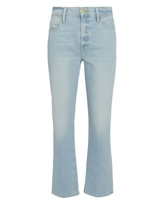 Le High Straight Jeans, LIGHT WASH DENIM, hi-res
