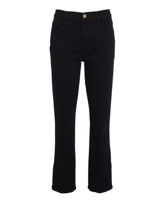 Le Sylvie Cropped High-Rise Jeans, BLACK, hi-res