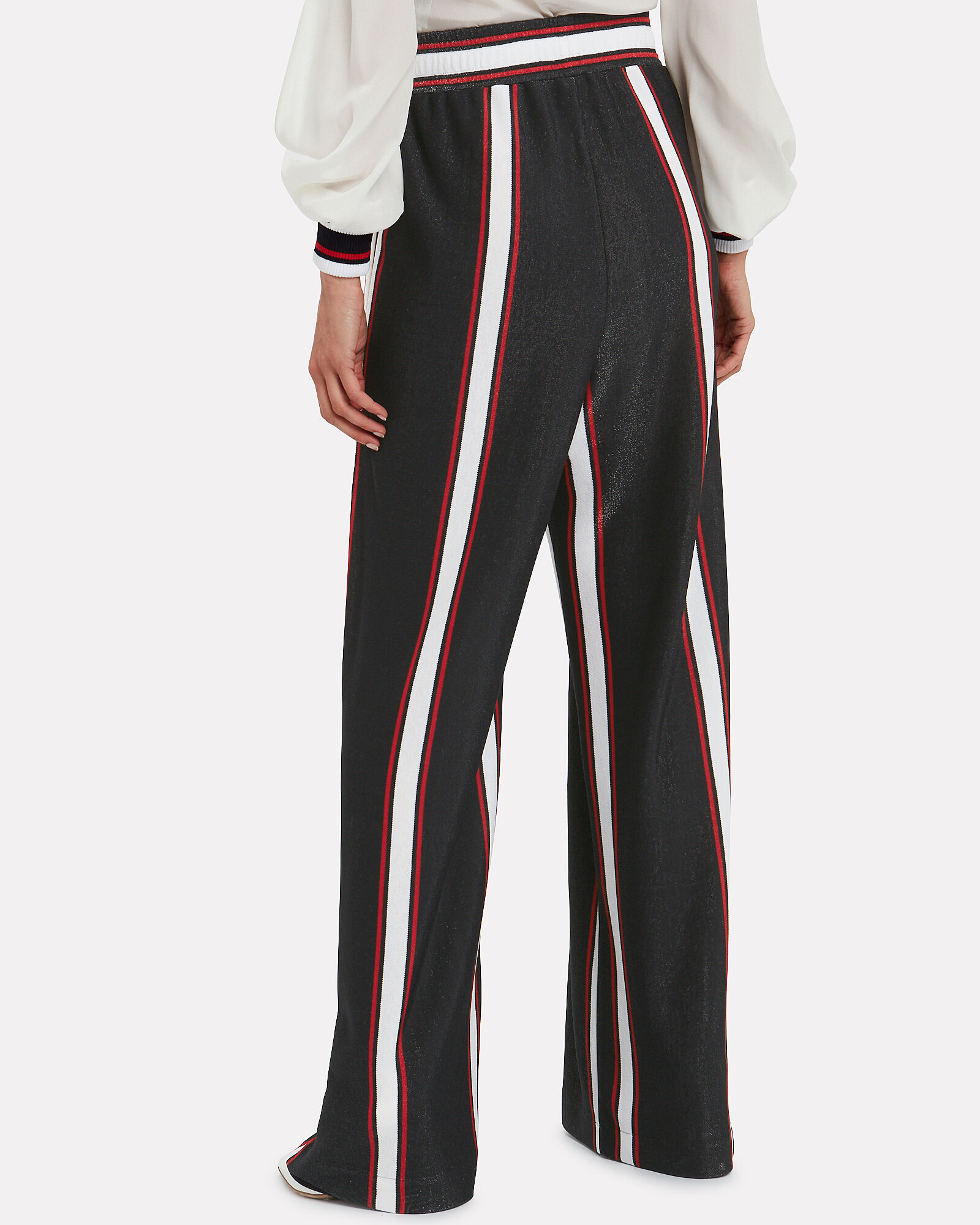 Sophie Striped Wide Leg Pants, NAVY/STRIPES, hi-res