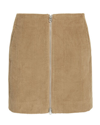 Heidi Mini Skirt, BROWN, hi-res