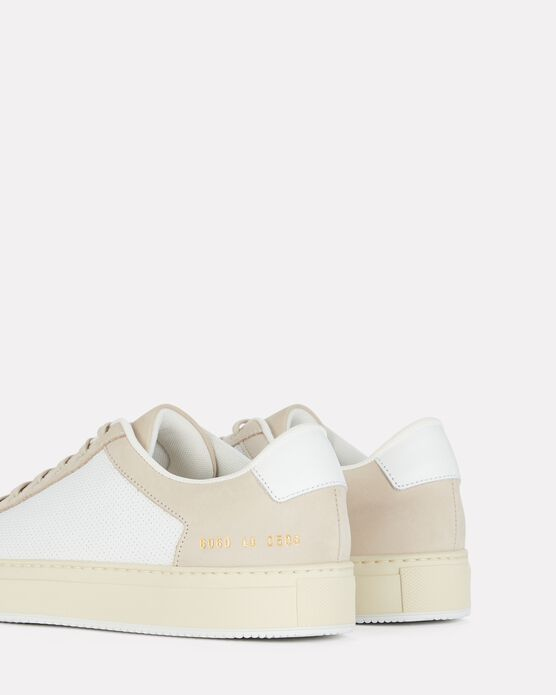 COMMON PROJECTS Leathers Retro 70s Low-Top Sneakers