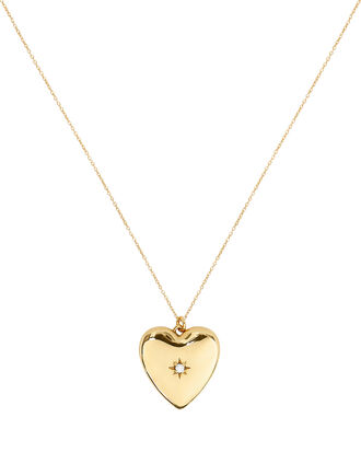 Anouk Heart Locket Necklace, GOLD, hi-res