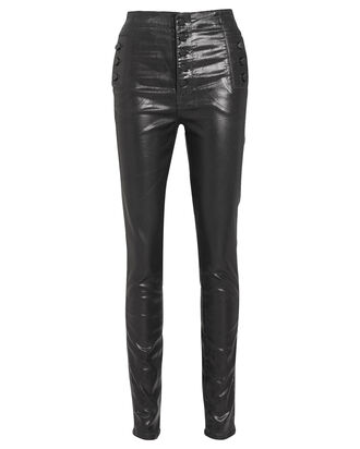 Natasha Black Skinny Pants, BLACK, hi-res