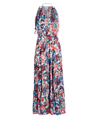 Rachel Sleeveless Floral Maxi Dress, MULTI, hi-res