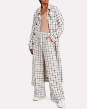 Hilarious Checked Trousers, IVORY/CHECK, hi-res