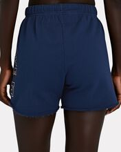 The Bender Cotton Terry Shorts, BLUE, hi-res
