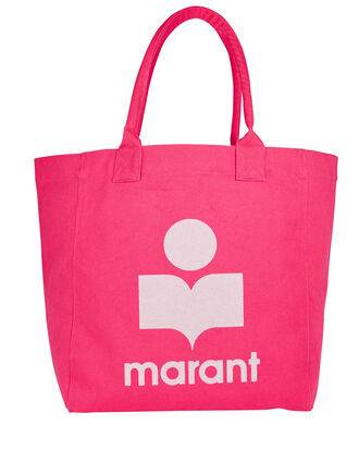 Yenky Logo Canvas Tote Bag, PINK, hi-res