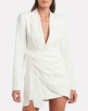 Tempo Blazer Mini Dress, IVORY, hi-res