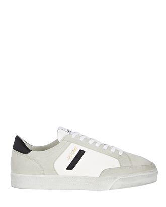 90s Sustainable Skate Sneakers, WHITE, hi-res