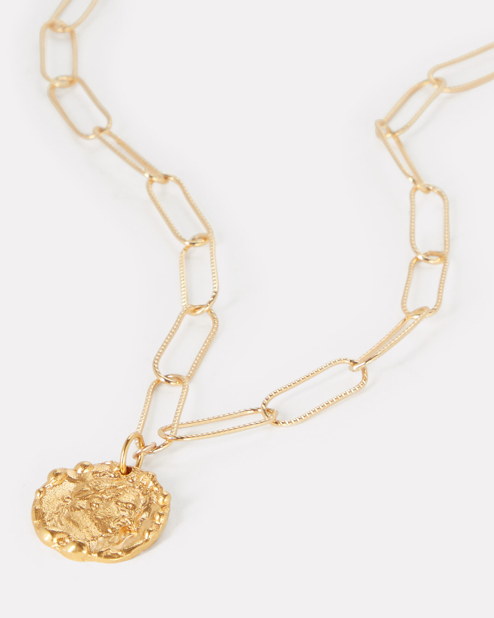 The Tale Of Virgil Necklace, GOLD, hi-res