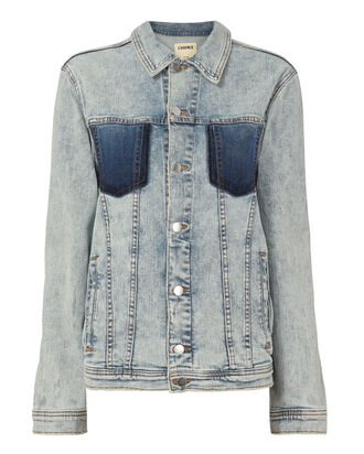 Karina Oversized Denim Jacket, DENIM, hi-res