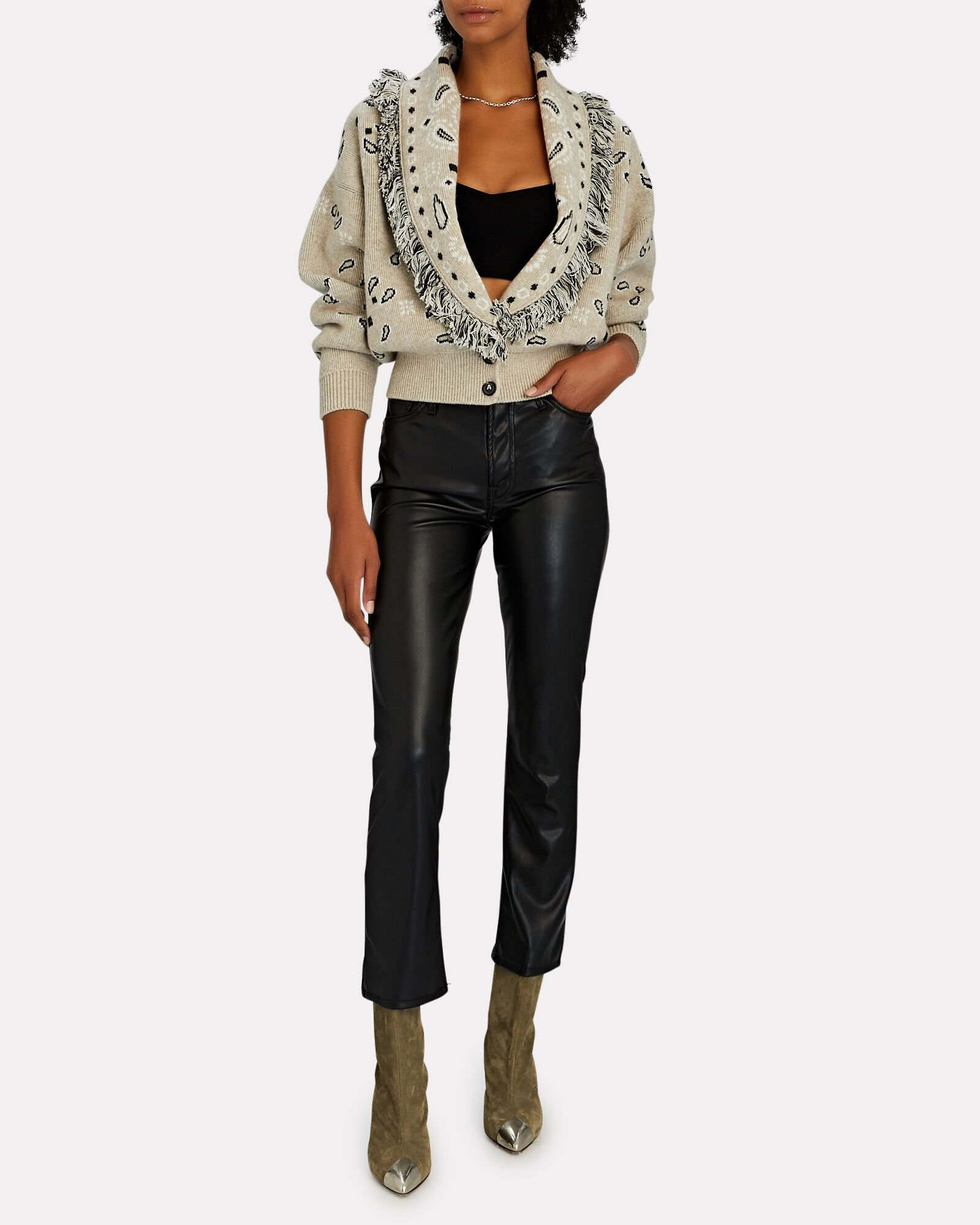 The Insider Ankle Faux Leather Jeans, WAX ON WAX OFF, hi-res