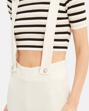Adelie Overall Jumpsuit, IVORY, hi-res