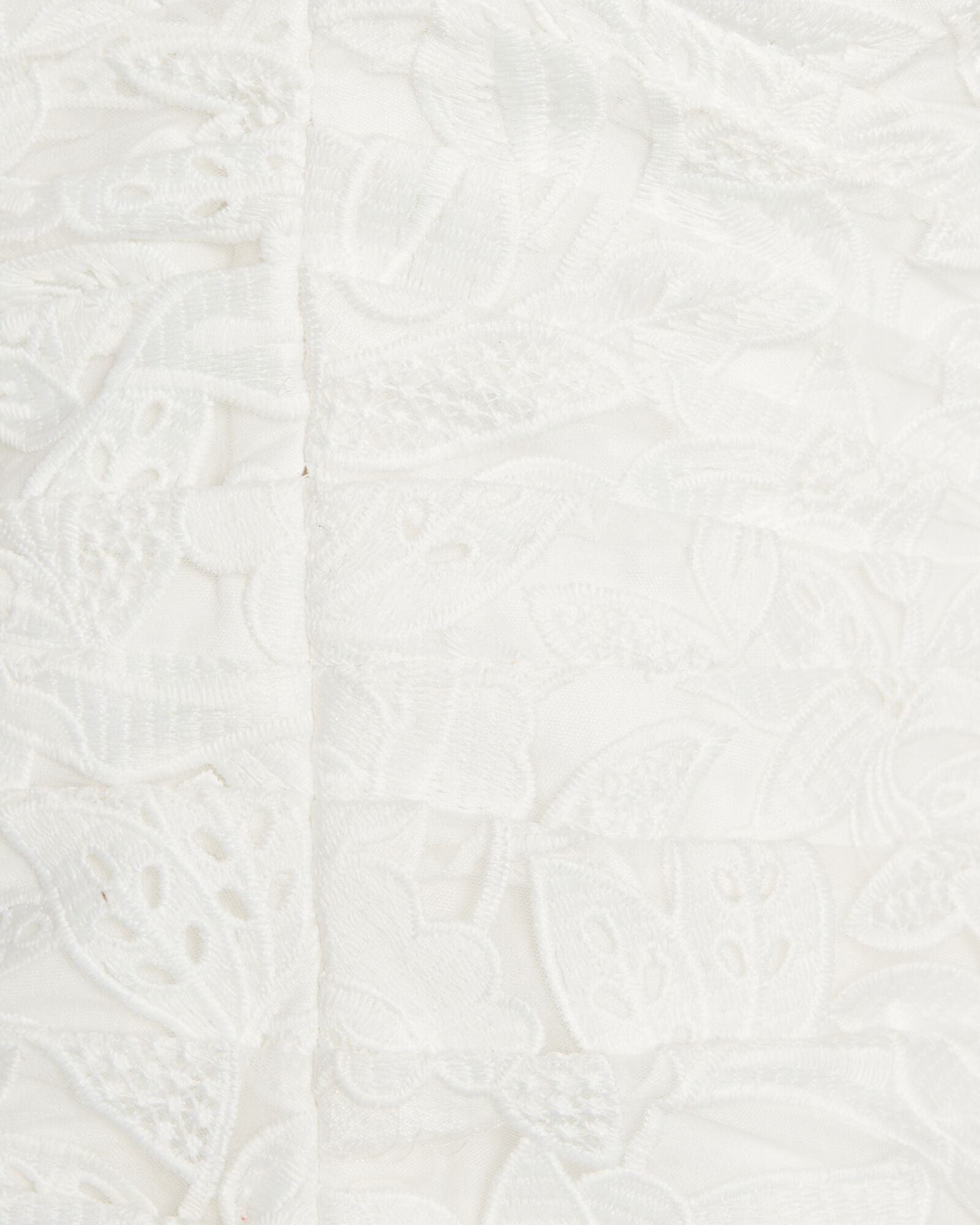 Guipure Lace One-Shoulder Top, WHITE, hi-res
