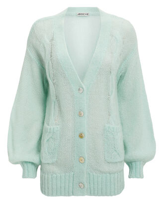 Whisper Cardigan, AQUA, hi-res