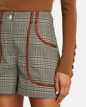 Amnesia Plaid Shorts, GREY/BROWN, hi-res
