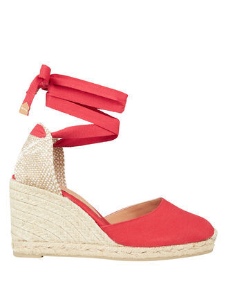 Carina 80 Wedge Espadrilles, RED/JUTE, hi-res