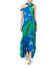 Briella Cutout Maxi Dress, BLUE-MED, hi-res