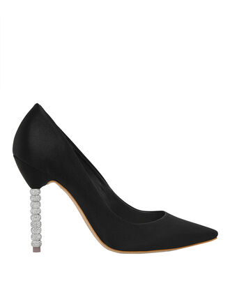 Coco Crystal Heel Pumps, BLACK, hi-res
