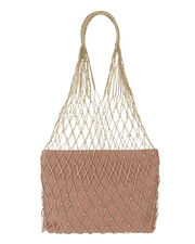 Adrienne Net Bag, BEIGE, hi-res