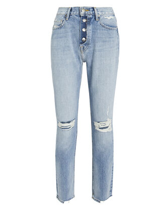 Le Original Rigid Skinny Jeans, LIGHT DENIM, hi-res