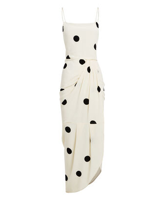 Polka Dot Sarong Dress, , hi-res