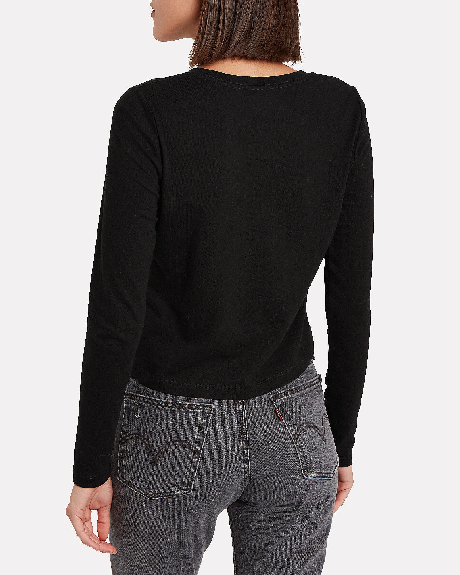 Classic Long Sleeve T-Shirt, BLACK, hi-res