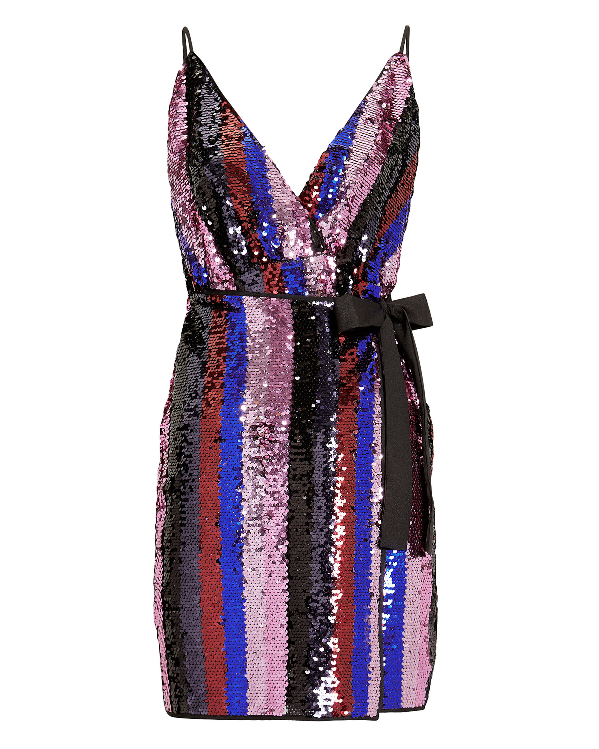 Lily Sequin Dress, MULTI, hi-res