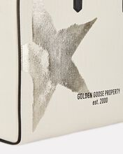 Golden Star East-West California Tote, IVORY, hi-res