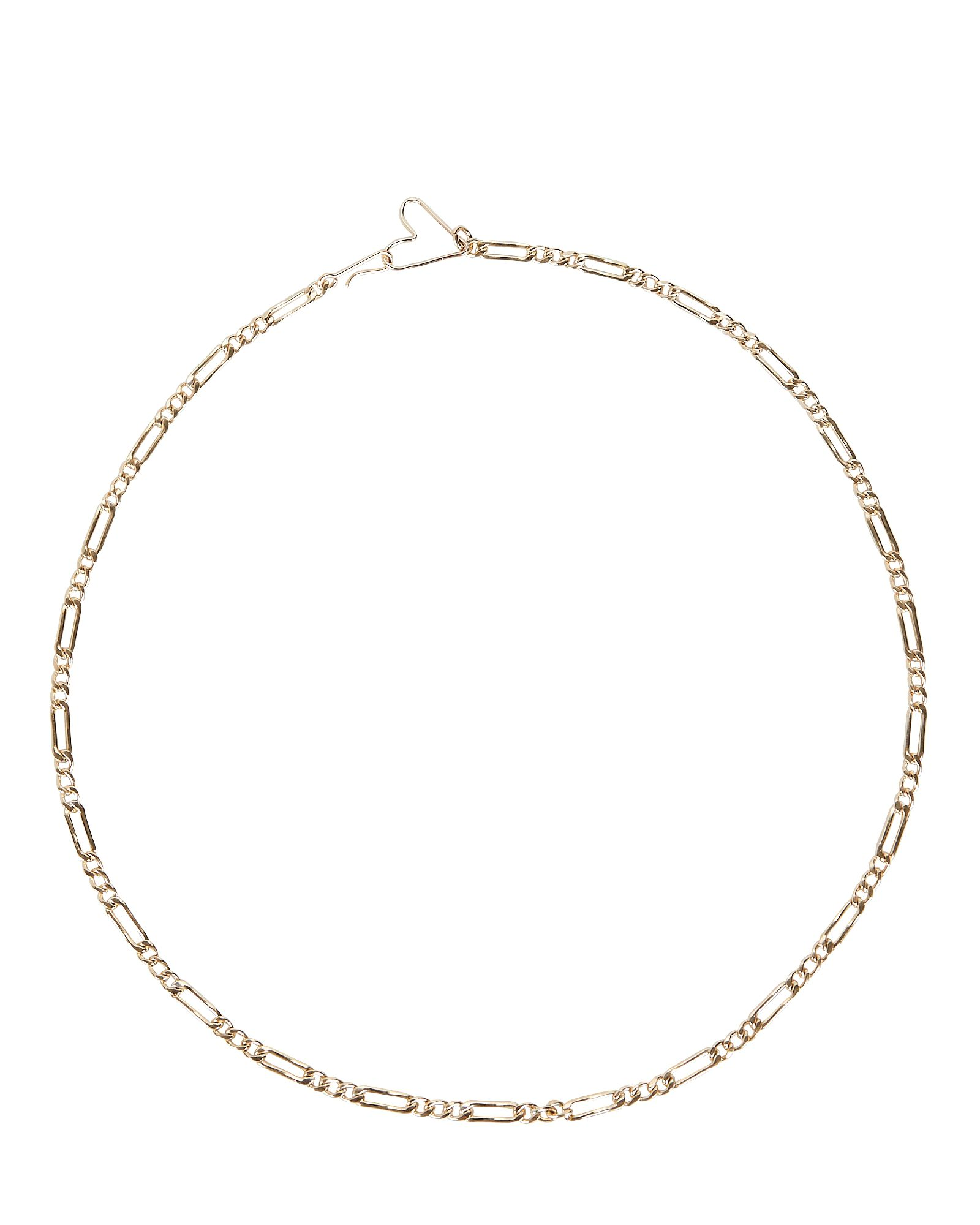 Borrowed From The Boys Chain Necklace, GOLD, hi-res