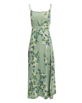 Hazel Floral Midi Dress, PALE MINT/FLORAL, hi-res