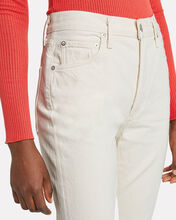 Remy High-Rise Straight Leg Jeans, ECRU, hi-res