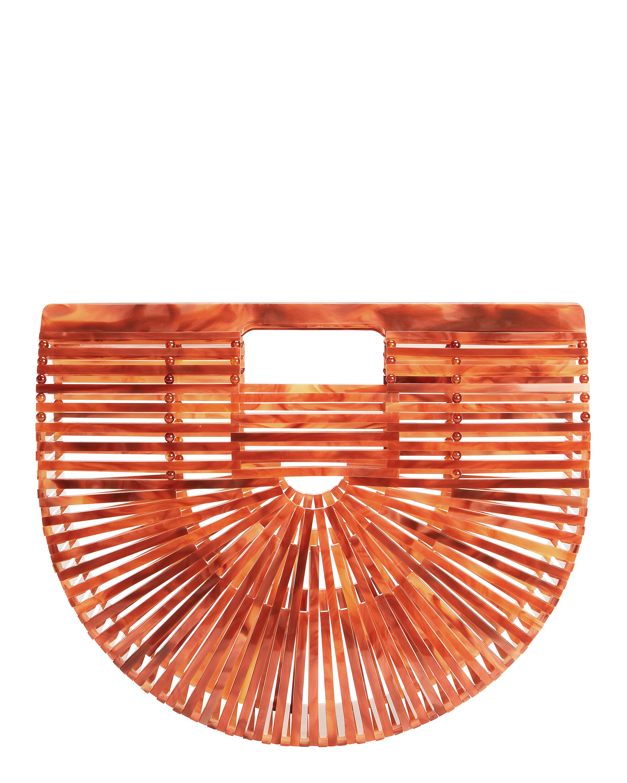 Ark Agate Small Clutch, BROWN, hi-res