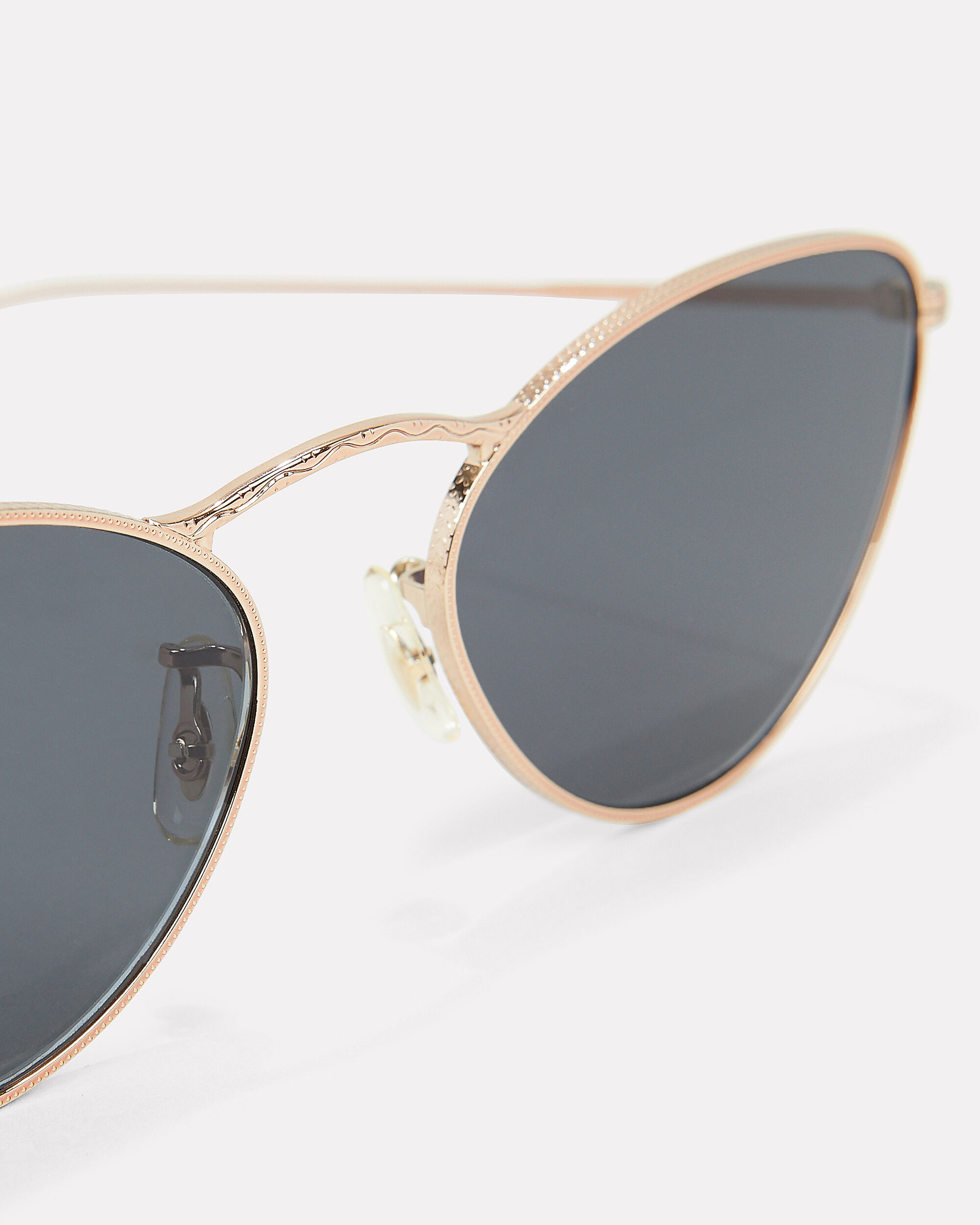 Lelaina Cat Eye Sunglasses, GOLD, hi-res